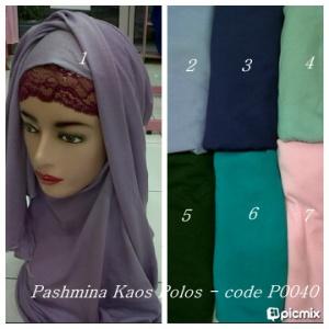 distributorjilbabmurah-Pashmina Kaos Polos- p0040